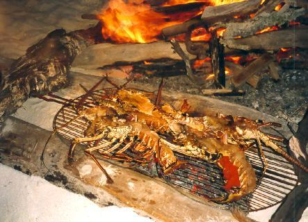 Langouste au gratin - Recette queue de langouste grillee au barbecue ...